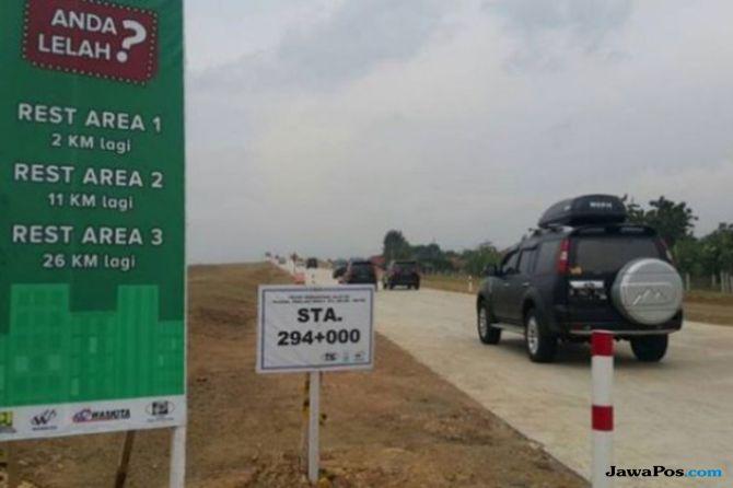 Pemudik Istirahat di Bahu Jalan, Korlantas Sewa Tanah Untuk Rest Area