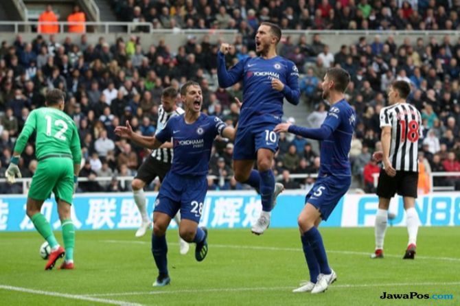 Premier LEague 2018-2019, Liga Inggris, Newcastle United, Chelsea