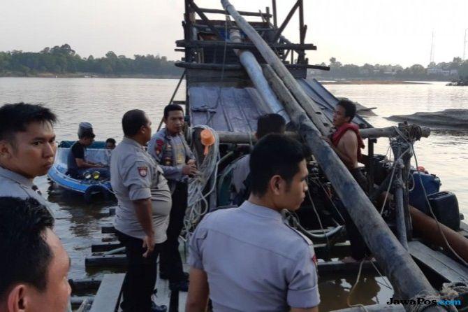 Penambangan Emas Ilegal di Sungai Kapuas Dihentikan