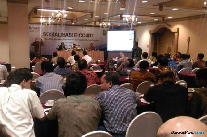 Pendaftaran Gugatan Bisa Online, Peradi Solo Sosialisasikan E-Court
