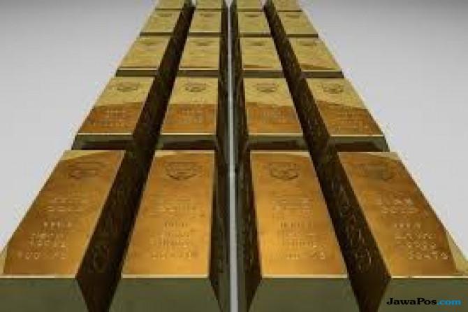 Pengumuman The Fed Hantam Dolar Paman Sam, Emas Dunia Bersinar