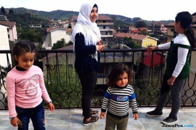 Pengungsi Syria Isi Kehidupan di Kota Kecil Italia yang Ditinggalkan