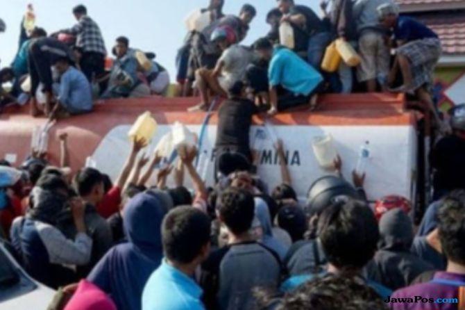 Penjarahan BBM di SPBU Palu dan Donggala, Pertamina Beri Klarifikasi