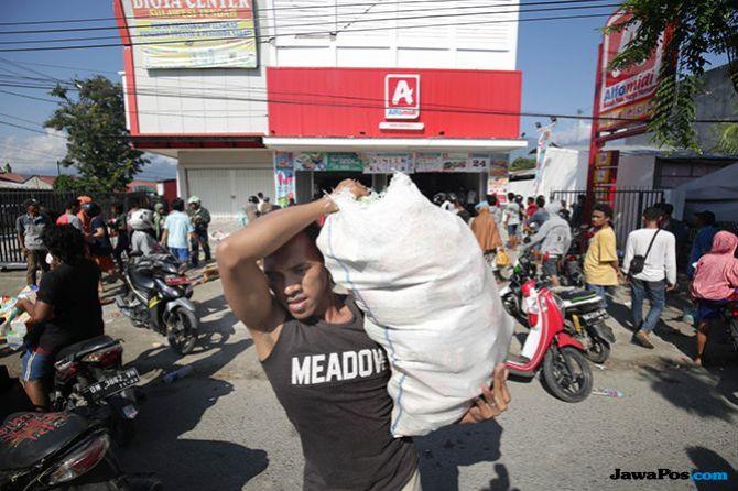 Penjarahan di Lima Lokasi, 45 Warga Palu Jadi Tersangka