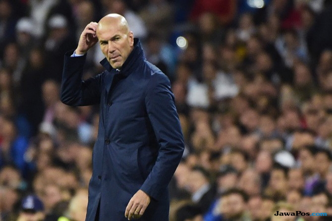 Penjelasan Zidane Terkait Kegagalan Madrid Kalahkan Tottenham