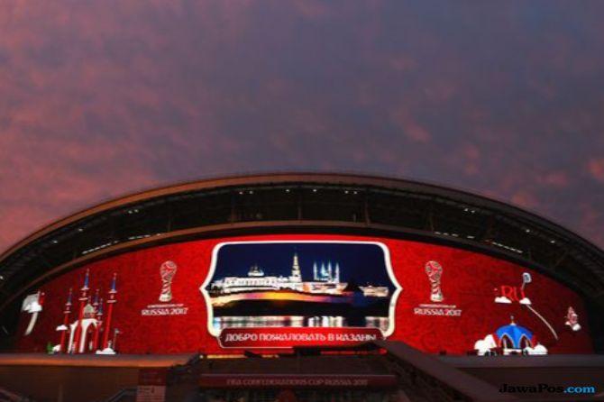 Penonton Piala Dunia Asal Nigeria Ingin Menetap di Rusia