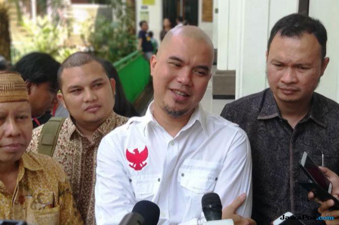 Penuhi Panggilan Polda Jatim, Ahmad Dhani Sebut Pelapor Kegeeran