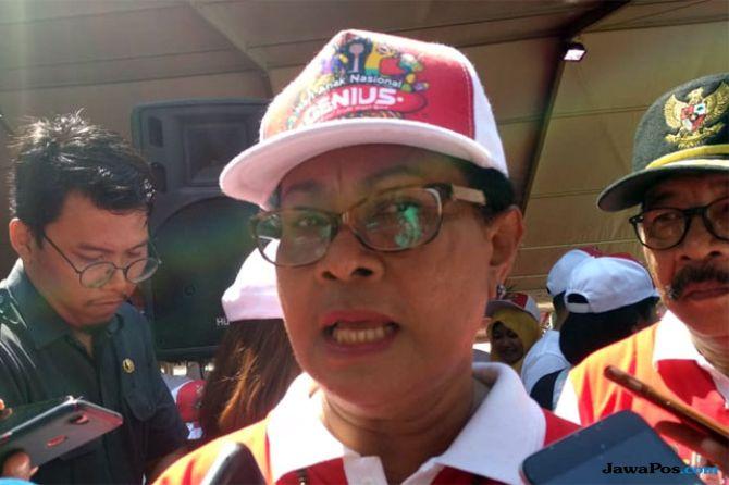 Menteri Pemberdayaan Perempuan dan Perlindungan Anak (PPPA) Yohana Yembise