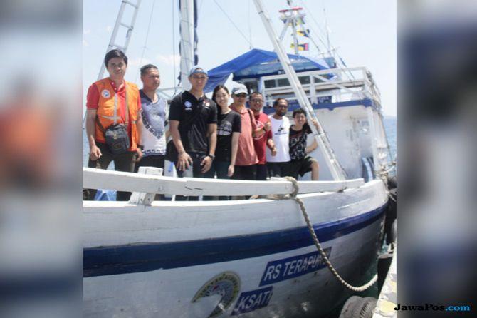 Perjuangan Kru Rumah Sakit Terapung demi Korban Gempa Lombok