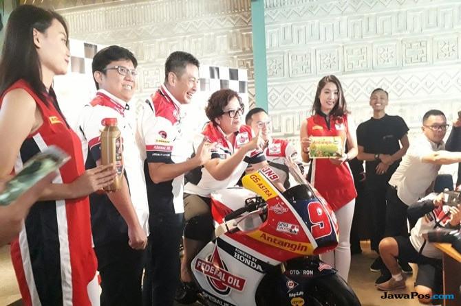 Perkenalkan Herbal Indonesia ke Mata Internasional Lewat Moto2