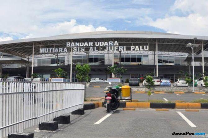 Perlancar Penerbangan, Airnav  Pakai Tower Mobile di Bandara di Palu