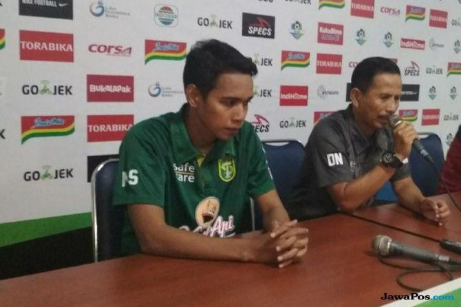 Persebaya Surabaya, Liga 1 2018, Arema FC, Djadjang Nurdjaman