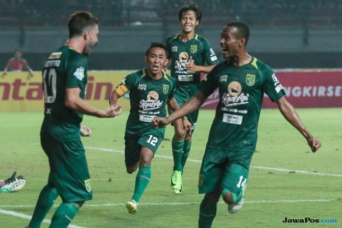 Persebaya Surabaya, Persela Lamongan, Liga 1 2018, Bejo Sugiantoro