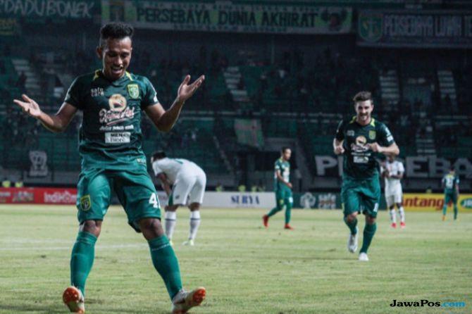 liga 1 2018, Persebaya Surabaya, PSMS Medan, Persebaya 2-0 PSMS, bonek