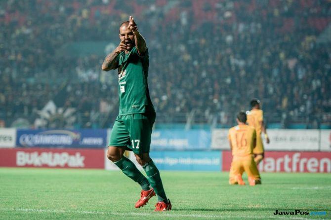 Persebaya Surabaya Mitra Kukar Liga   David Da Silva Fernando Rodriguez