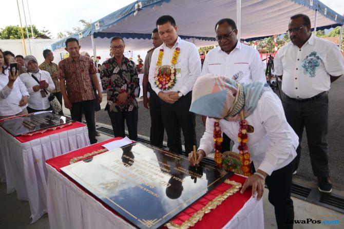 Pertamina Resmikan BBM Satu Harga di Jayawijaya dan Tolikara