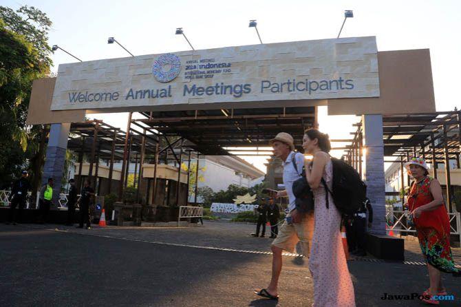 Pertemuan IMF-Bank Dunia Tambah Penerimaan Bali Sekitar Rp1,2 Triliun