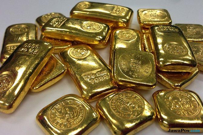 Pertemuan The Fed Bikin Harga Emas Dunia Bersinar