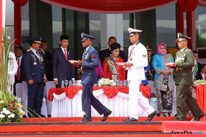 Pesan Presiden di HUT TNI, Tetap Netral di Tahun Politik