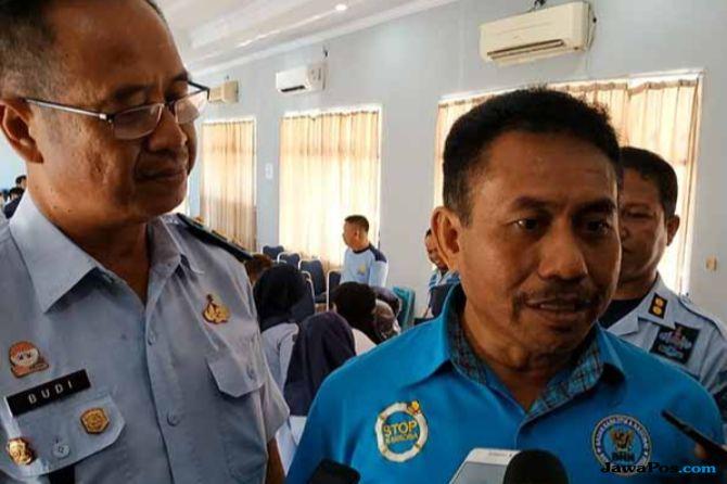 Petugas Lapas Makassar Jalani Tes Urine