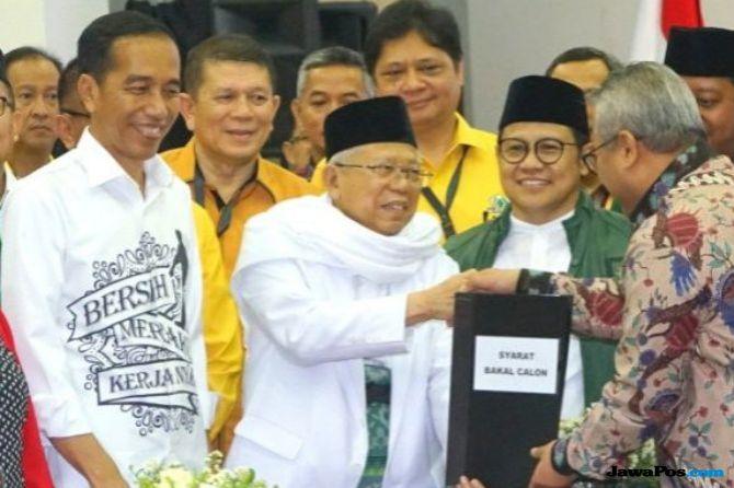 Pilihan pada Ma'ruf Amin Runtuhkan Narasi yang Dibangun Lawan Jokowi