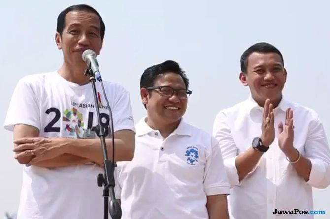 PKB Resmi Beri Dukungan, Jokowi: Nama Cak Imin Ada di Saku Saya