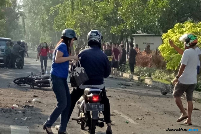 PMII Bojonegoro Kecam Keras Aksi Terorisme di Surabaya