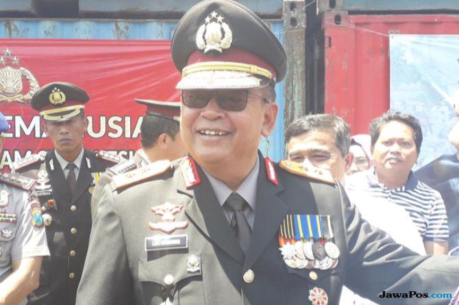 Polda Jatim Berangkatkan Bantuan Logistik dan Pasukan Keamanan ke Palu