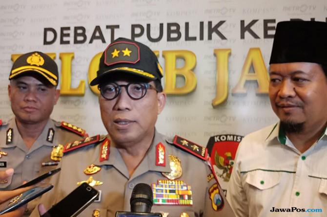Polda Jatim Perketat Pengamanan di Debat Publik Pilgub Jatim Kedua