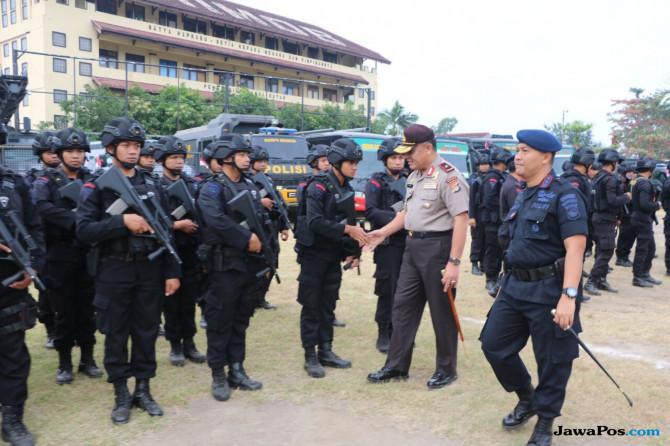 Polda Kejar Pelaku Teror Bom Kantor Bupati Sumbawa