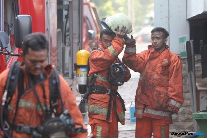 Polisi Sebut Belum Ada Kelalaian Saat Kebakaran di Gedung Kemenhub