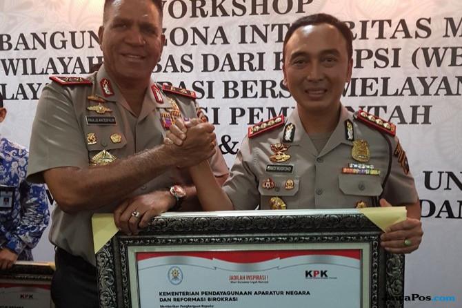 Polrestabes Medan Dapat Penghargaan Pembangunan Zona Integritas WBK