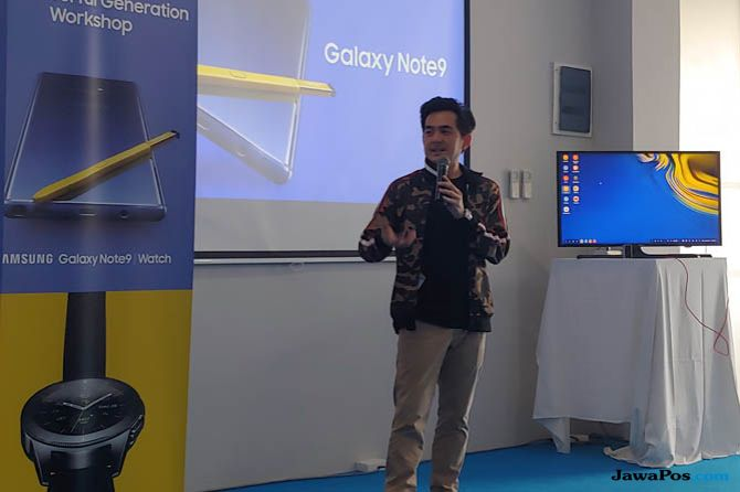 Kay Moreno, Samsung Galaxy Note 9, Galaxy Note 9 kamera