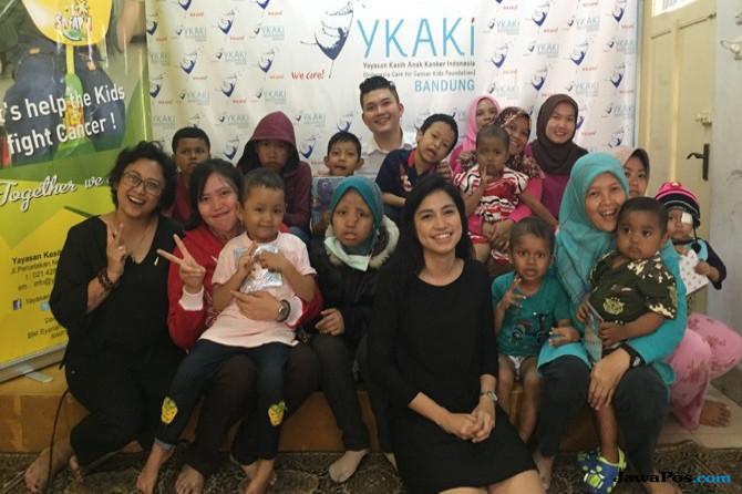 PPI Dunia Kunjungi Anak Penderita Kanker