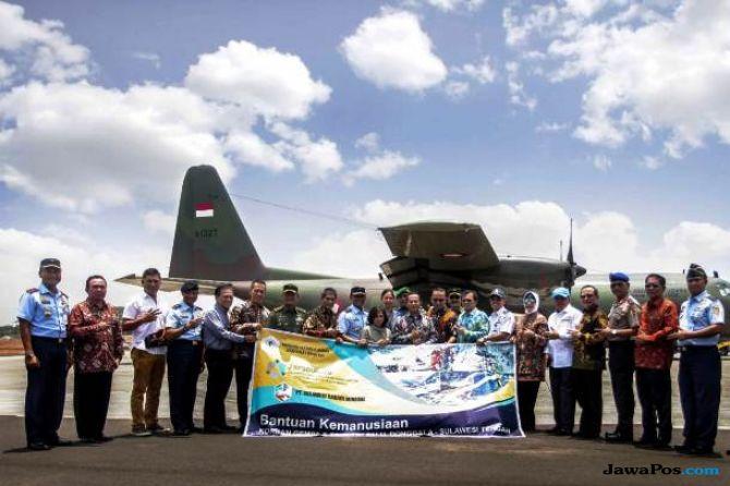 PPSA Lemhanas dan J Resources Kirim 16 Ton Bantuan ke Palu dan Donggal