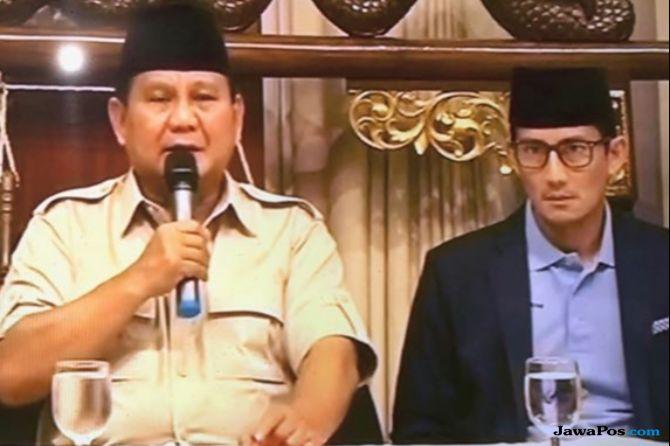 Prabowo-Sandi Tutupi Masalah Internal Dengan Serang Isu Ekonomi Jokowi