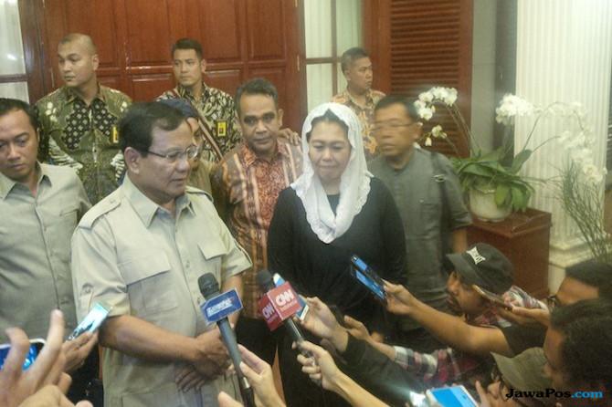 Prabowo dan Yenny Wahid