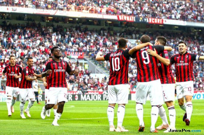 Liga Europa 2018-2019, AC Milan, Olympiakos