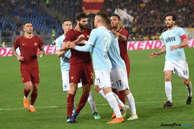 Serie A 2018-2019, Liga Italia, AS Roma, Lazio, AS Roma vs Lazio, Derby della Capitale