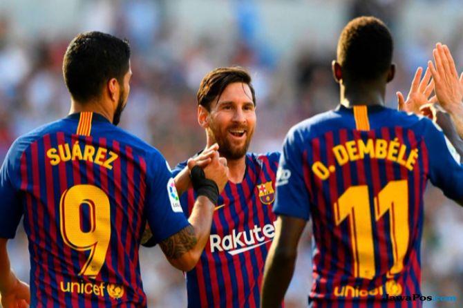 La Liga 2018-2019, Liga Spanyol Barcelona