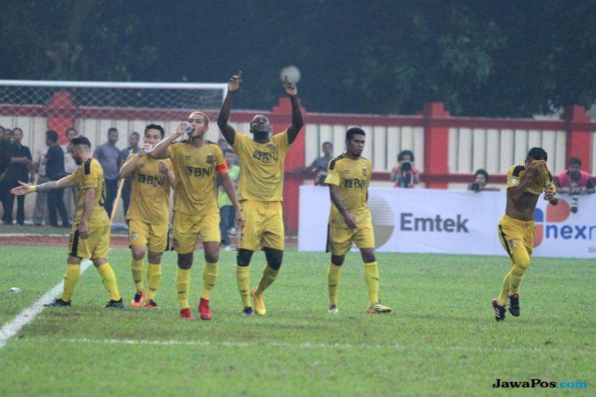 Bhayangkara FC, Barito Putera, Liga 1 2018