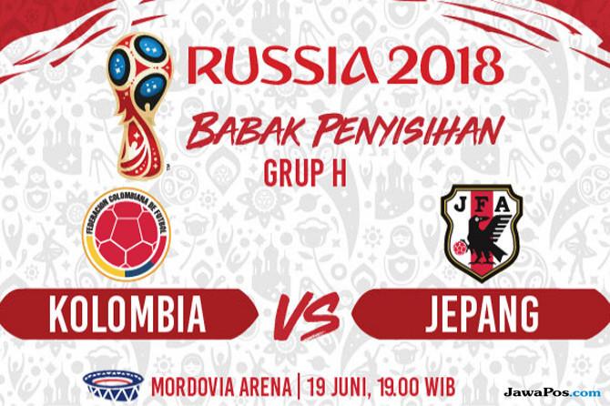 piala dunia 2018, kolombia, jepang, prediksi kolombia vs jepang