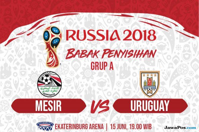 Piala Dunia 2018, Mesir, Uruguay, Prediksi Mesir vs Uruguay, Berita Piala Dunia, World Cup 2018