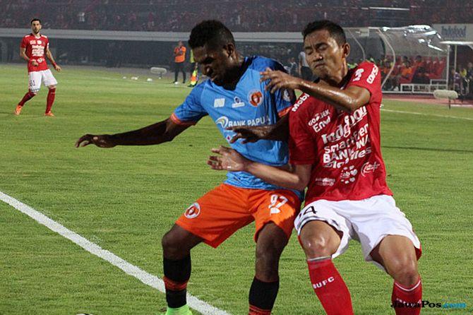 Liga 1 2018, Perseru Serui, Bali United, Perseru vs Bali United