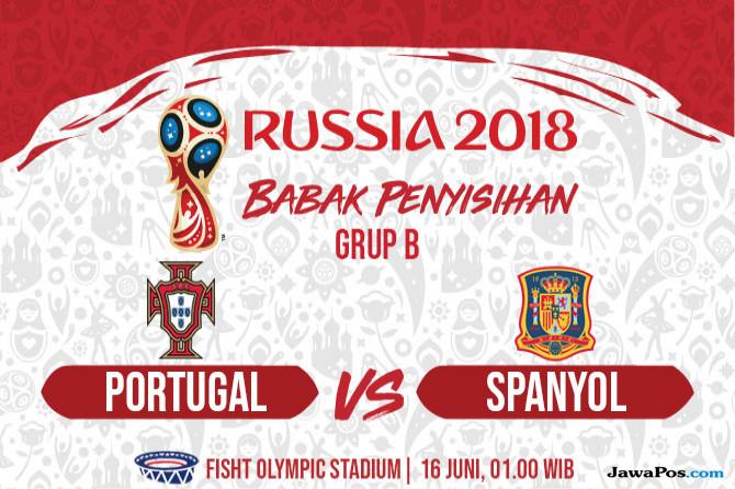 Piala Dunia 2018, World Cup 2018, Berita Piala Dunia, Spanyol, Portugal, Prediksi Portugal vs Spanyol
