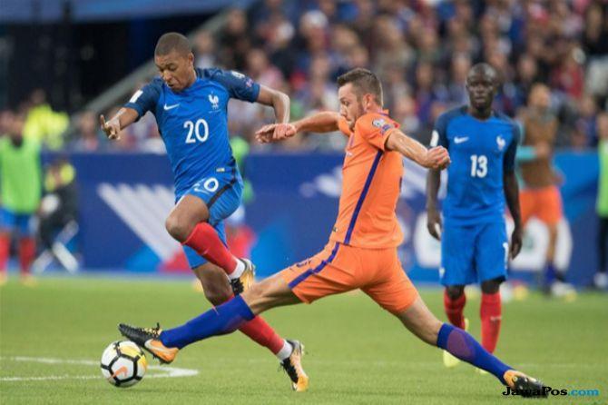 UEFA Nations League, Prancis, Belanda, Prancis vs Belanda