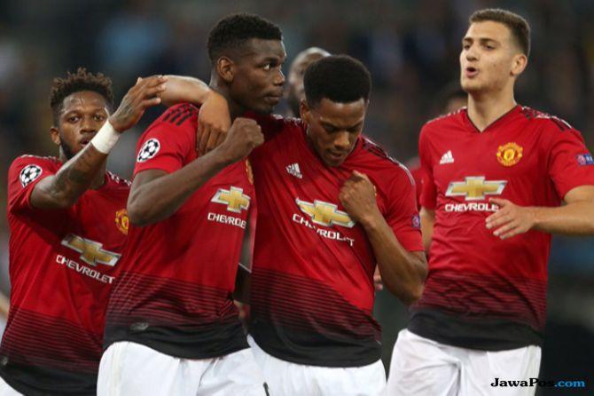 Premier League 2018-2019, Liga Inggris, Manchester United, West Ham United