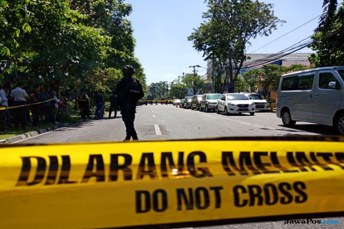 Presiden Jokowi Datang, Perimeter Pengamanan GKI Diponegoro Diperluas