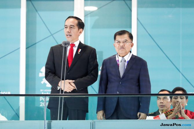 Asian Games 2018, Opening Ceremony, Indonesia, Presiden Joko Widodo, Jokowi