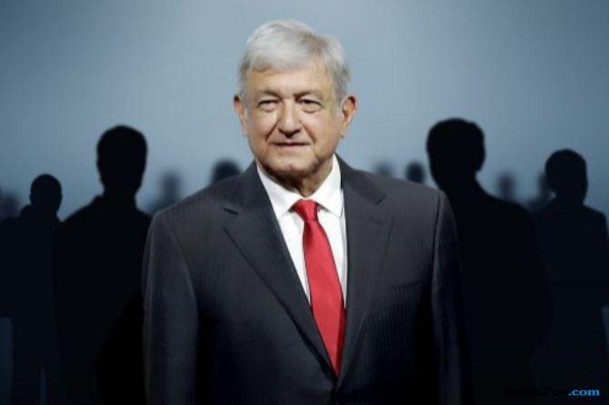 Presiden Meksiko Terpilih Undang Trump ke Pelantikannya